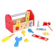 Tooky Toy, 9.45 x 5.11 x 5.91 inches, Fix-it Tool Box