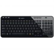 Tastatura Wireless Logitech K360, Black (920-003094)