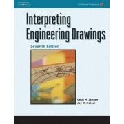 Interpreting Engineering Drawings by Cecil H. Jensen