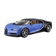 Modèle Réduit De Voiture De Collection : Bugatti Chiron Bleue - Echelle 1:24