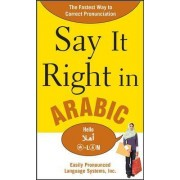 Say It Right in Arabic by Epls