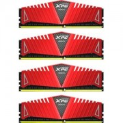 Memorie AData XPG Z1 Red 32GB (4x8GB) DDR4, 2800MHz, PC4-22400, CL17, Quad Channel Kit, AX4U2800W8G17-QRZ