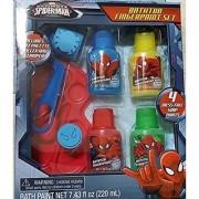 Ultimate Spider-Man Bath Tub Finger Paint set