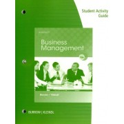 Student Activity Guide for Burrow/Kleindl's Business Management by Brad Kleindl