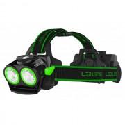 Lanterna Cap Led Lenser XEO 19R Verde 2000lm + acumulator