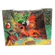 O.D.S. 37224 Dragoni Playset con Personaggio e Accessori