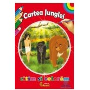 Citim si coloram - Cartea junglei