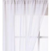 Fehér voila függöny, gyűrt méterben/Cikksz:01140317