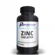 Zinc Chelated - 100 Tabletes - Performance Nutrition