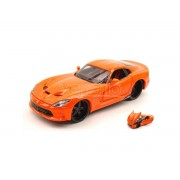 Maisto MI31363 DODGE VIPER GTS SRT 2013 ORANGE 1:24 Modellino