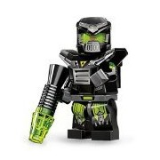 LEGO Minifigures Series 11 Evil Mech Mini Figure