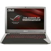 "Laptop Gaming ASUS ROG GX700VO-GC009T (Procesor Intel® Quad-Core™ i7-6820HK (8M Cache, up to 3.60 GHz), Skylake, 17.3""FHD, 32GB, 256GB SSD, nVidia GeForce GTX 980M@8GB, Wireless AC, Tastatura iluminata, Windows 10 Home)"