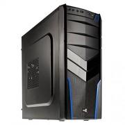 Aerocool V2X Boîtier PC Noir/Bleu