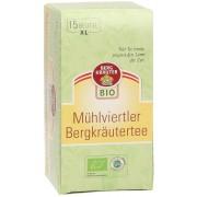 Österreichische Bergkräuter Té de Hierbas de Montaña de la Región Mühlviertler - Envase Té XL, 15 x 2g