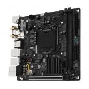 Tarjeta Madre Gigabyte mini ITX GA-H270N-WIFI, S-1151, Intel H270, USB 3.0, 32GB DDR4, para Intel