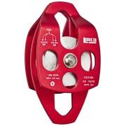 LACD Double Pulley Mobile Bloczek linowy big ball bearing szary/czerwony Bloczki wspinaczkowe