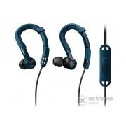Casti sport Philips SHQ3405/00, albastru inchis