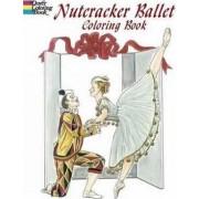 Nutcracker Ballet Coloring Book by Brenda Sneathen Mattox