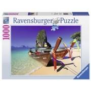 Puzzle Barcuta Pe Plaja, 1000 Piese