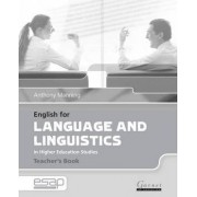 English for Language and Linguistics Teacher Book by Anthony Manning