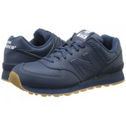New Balance NB574 Navy Leather