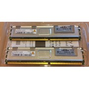 Dual Channel Kit: 2 x 4 GB = 8 GB a 240 pin DDR2 - 667 Fully Buffered FB-DIMM (667 mhz, PC2 - 5300, CL5) - 100% compatibile con HP Part 397415 B21, (2 x) em162aa - adatto per server HP ProLiant BL20p G4 + BL460 C G5 + BL480 C + BL680 C G5 + DL140 G3 + DL1
