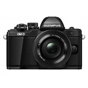 "Olympus E-M10 Mark-II Cámara EVIL de 16.1 Mp (pantalla 3"", estabilizador óptico, vídeo Full HD, WiFi) Kit cámara con objetivo 14-42mm EZ Zoom, negro"