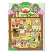 Abtibilduri Pufoase - Casuta Veveritelor Melissa And Doug