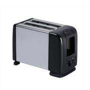 Wonder World ™ MS-06 Megastar 2 Slice Black Popup Toaster- MS-06 650 W Pop Up Toaster(Black)