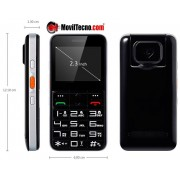 Movil Localizador de Personas alzheimer familiar MovilTecno Black 728