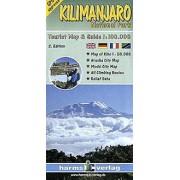 Wandelkaart Kilimanjaro National Park Map   Harms verlag