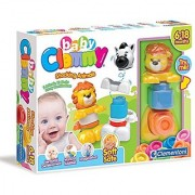 Clemmy Lion and Zebra Stacking Animals