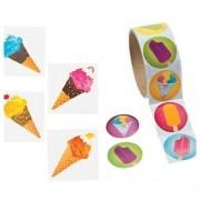 ICE CREAM - Frozen TREAT Party FAVORS - 72 TATTOOS & 100 Stickers - SUMMER Arts & Crafts - TEACHER -