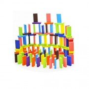 120pcs Wooden Dominos Blocks Set, Kids Game Educational Play Toy, Domino Racing Toy Game by ULT-unite