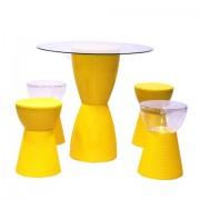 Conjunto Kitchen Amarelo