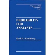 Probability for Analysts by Karl R. Stromberg