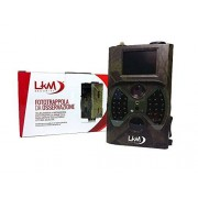 LKM Security ® Cámara infrarrojos fototrappola LKM Security® gprs GSM MMS 12 Mpx