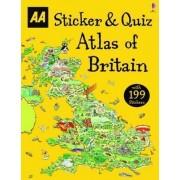 Sticker & Quiz Atlas of Britain