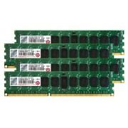 Transcend TS16GJMA533N JetMemory - Kit memoria DDR3-RAM da 16 GB (4 x 4 GB, 1333 MHz, CL9) per Apple Mac Pro