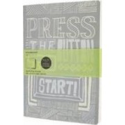 Moleskine Cover Art Start Plain Journal by Moleskine