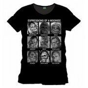 Tricou - Star Wars - Emotions of a Wookie