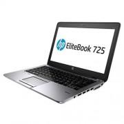 HP EliteBook 725 G3, A10 Pro-8700B, 12.5 HD, 4GB, 500GB, ac, BT, FpR, backlit kbd, Win 10 Pro downgraded