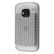 Nokia E5 Diamond TPU Gel Case - Microsoft / Nokia Soft Cover (Clear)