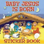 Baby Jesus is Born Sticker Book by Karen Williamson