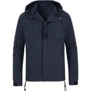 Filippa K Nathan Cotton Field Jacket Navy
