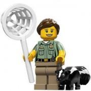Идентифицирана минифигурка Лего Серия 15 - Lego series 15 Animal Controller, 71011-8