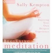 Beginning Meditation by Sally Kempton