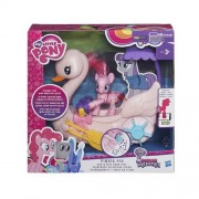 My Little Pony Friendship is Magic Pinkie Pie Row and Ride Swan Boat PlaySet by Hasbro