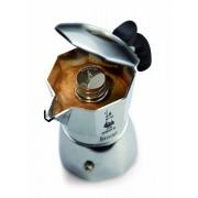 Bialetti Brikka Elite 2 személyes kávéfőző indukciós alátéttel - 108013P