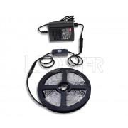 Ledstar osvetlenie s pohybovým senzorom LED pásik 3m SMD3528 60LEDm 4,8Wm adaptér 25W MeanWell